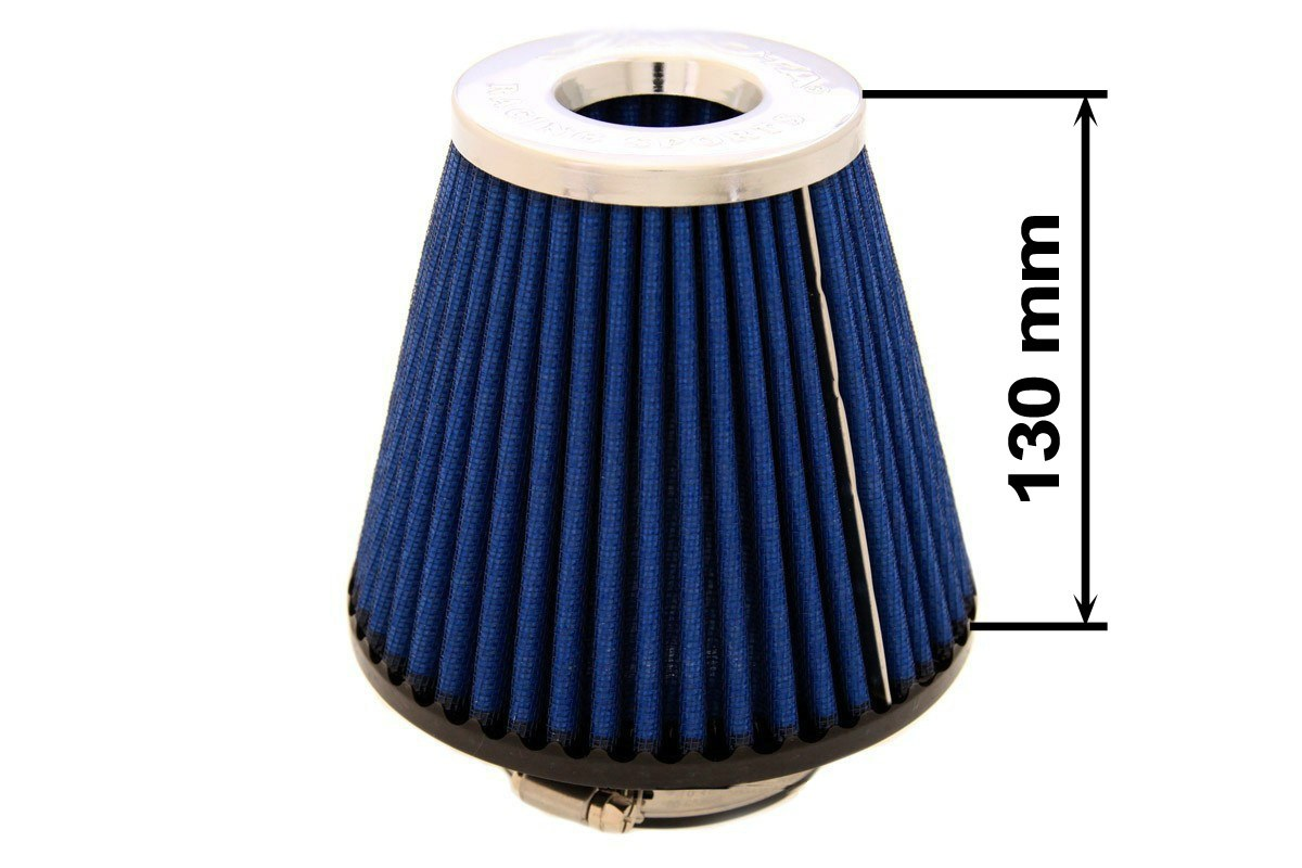 Filtr stożkowy SIMOTA JAU-X02209-05 60-77mm Blue - GRUBYGARAGE - Sklep Tuningowy